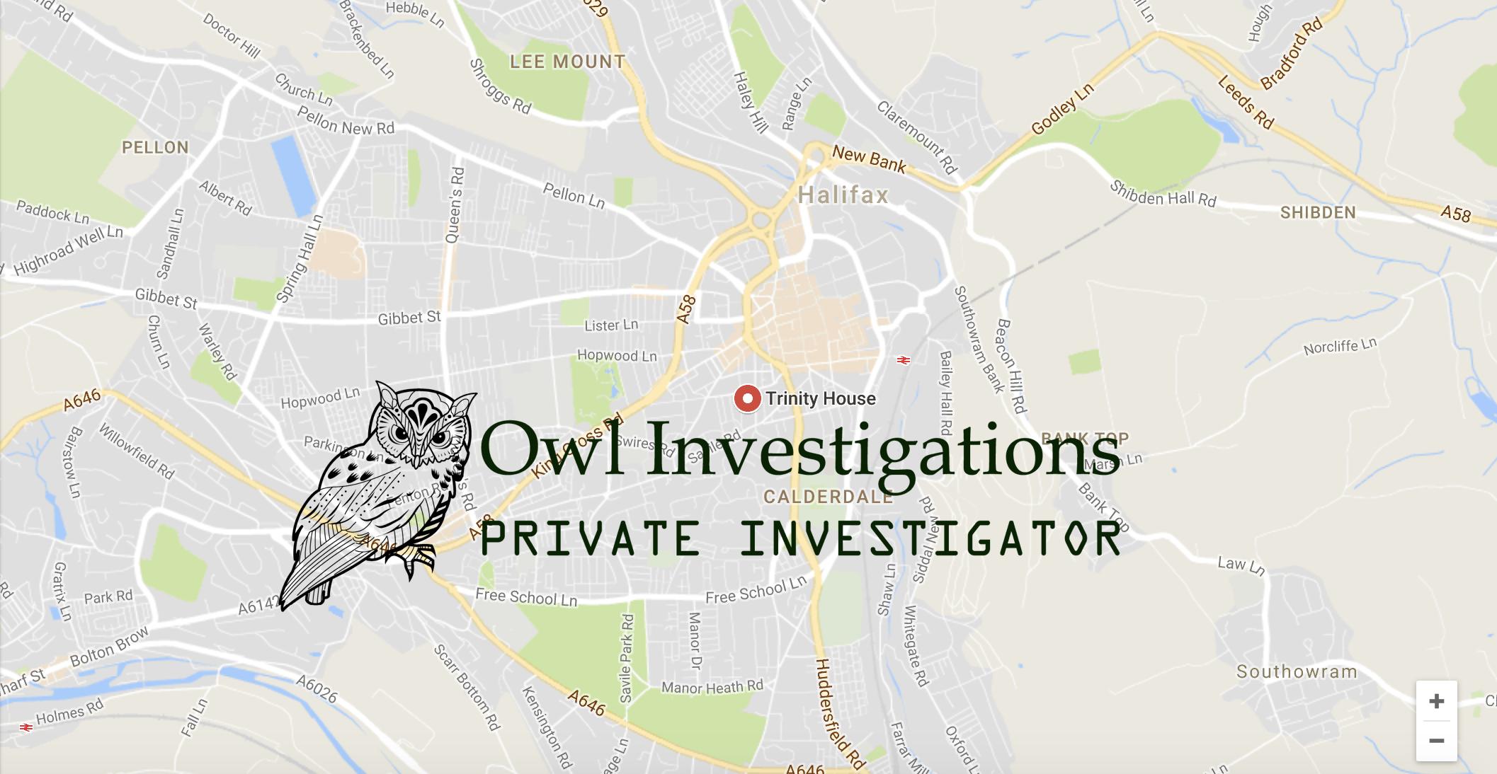 Private Investigator Halifax, Bradford, Huddersfield, Wakefield and Leeds